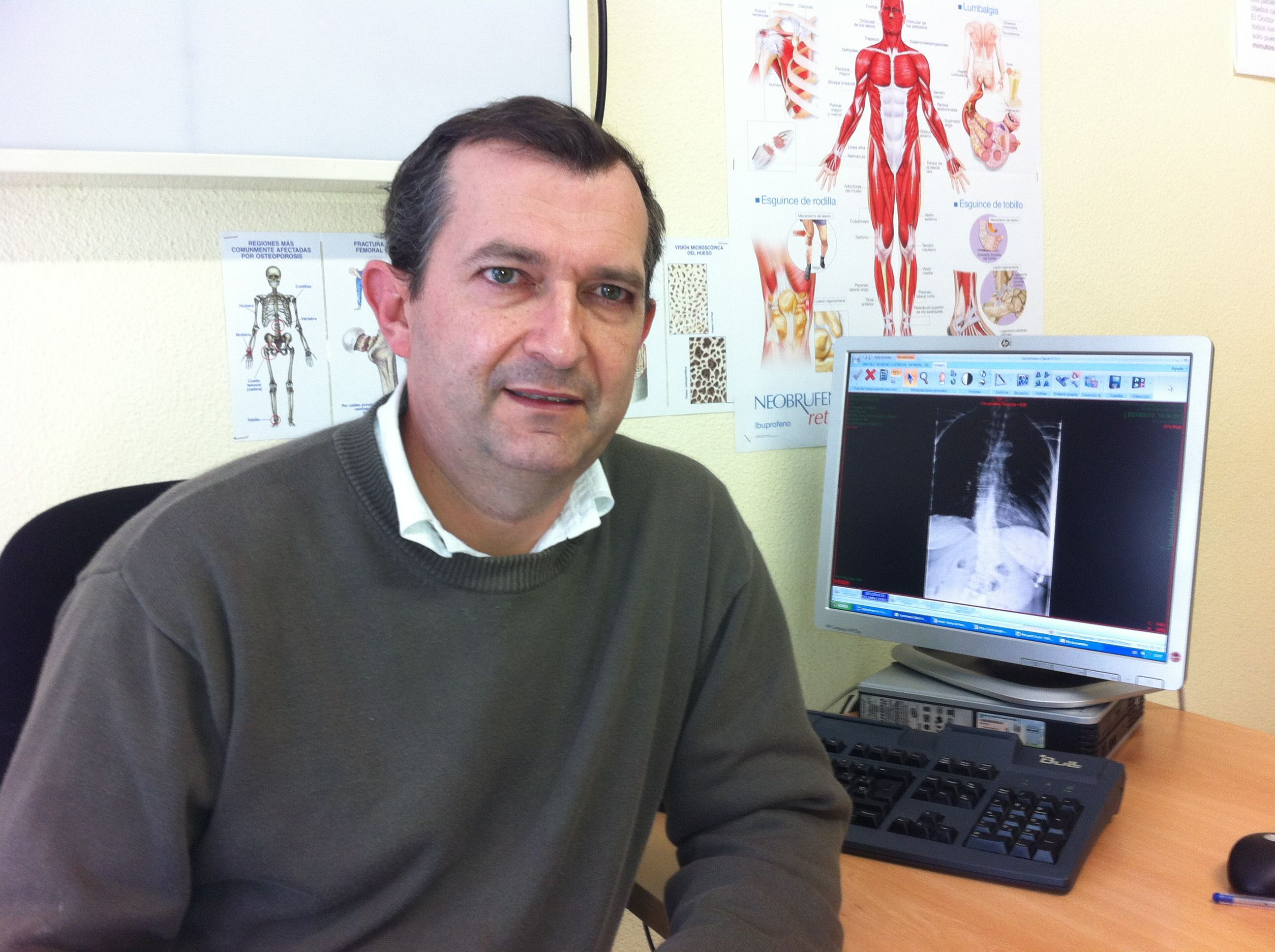 El profesor Julio Doménech, autor del estudio