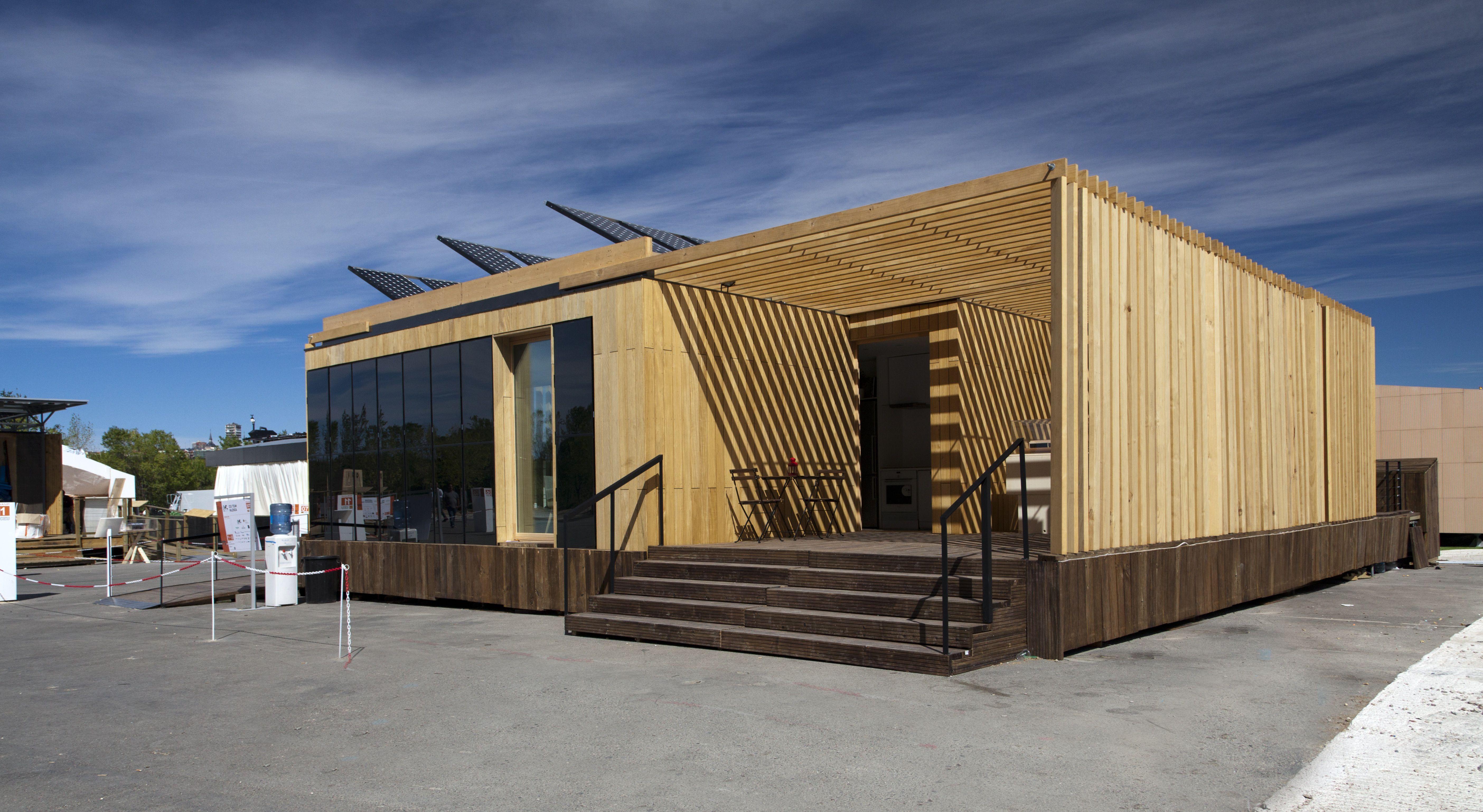 La casa solar smlsystem de la ceu uch cuarta mejor for Arquitectura modular