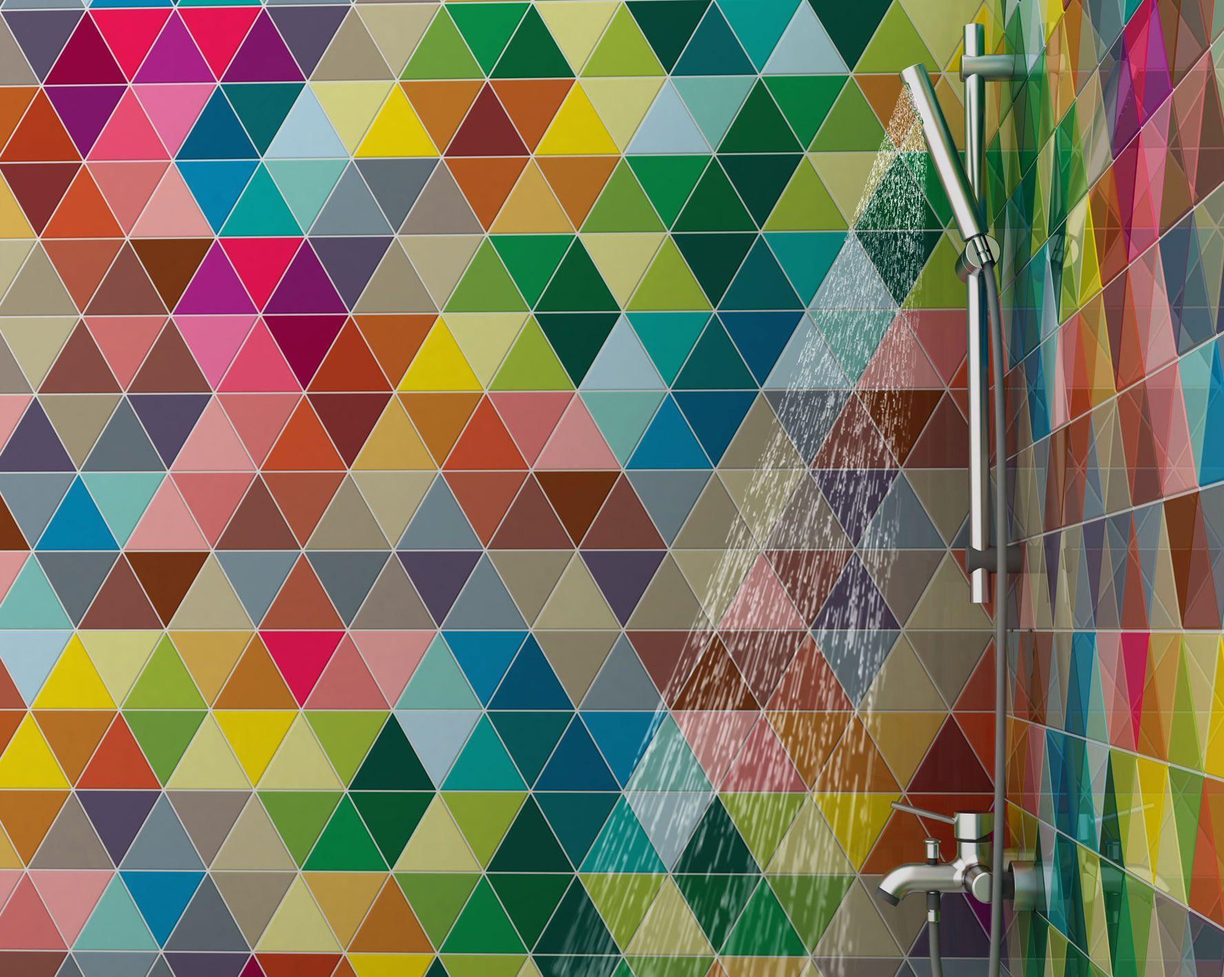 Primer y segundo premio en cevisama para los dise os - Azulejos de colores ...