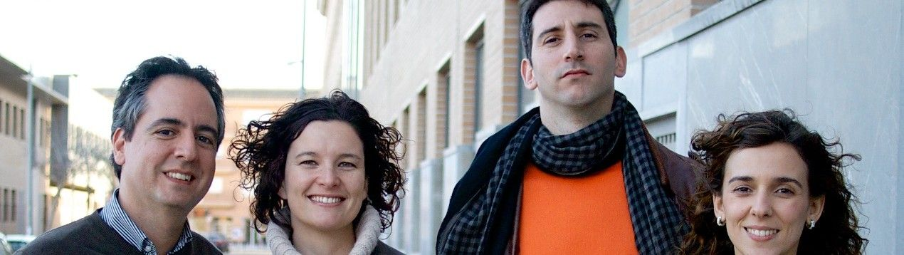 Los investigadores José Ignacio Redondo, Laura Gil, Iván Serra y Carme Soler, miembros del Grupo de investigación sobre Avances en Anestesia de la CEU-UCH.