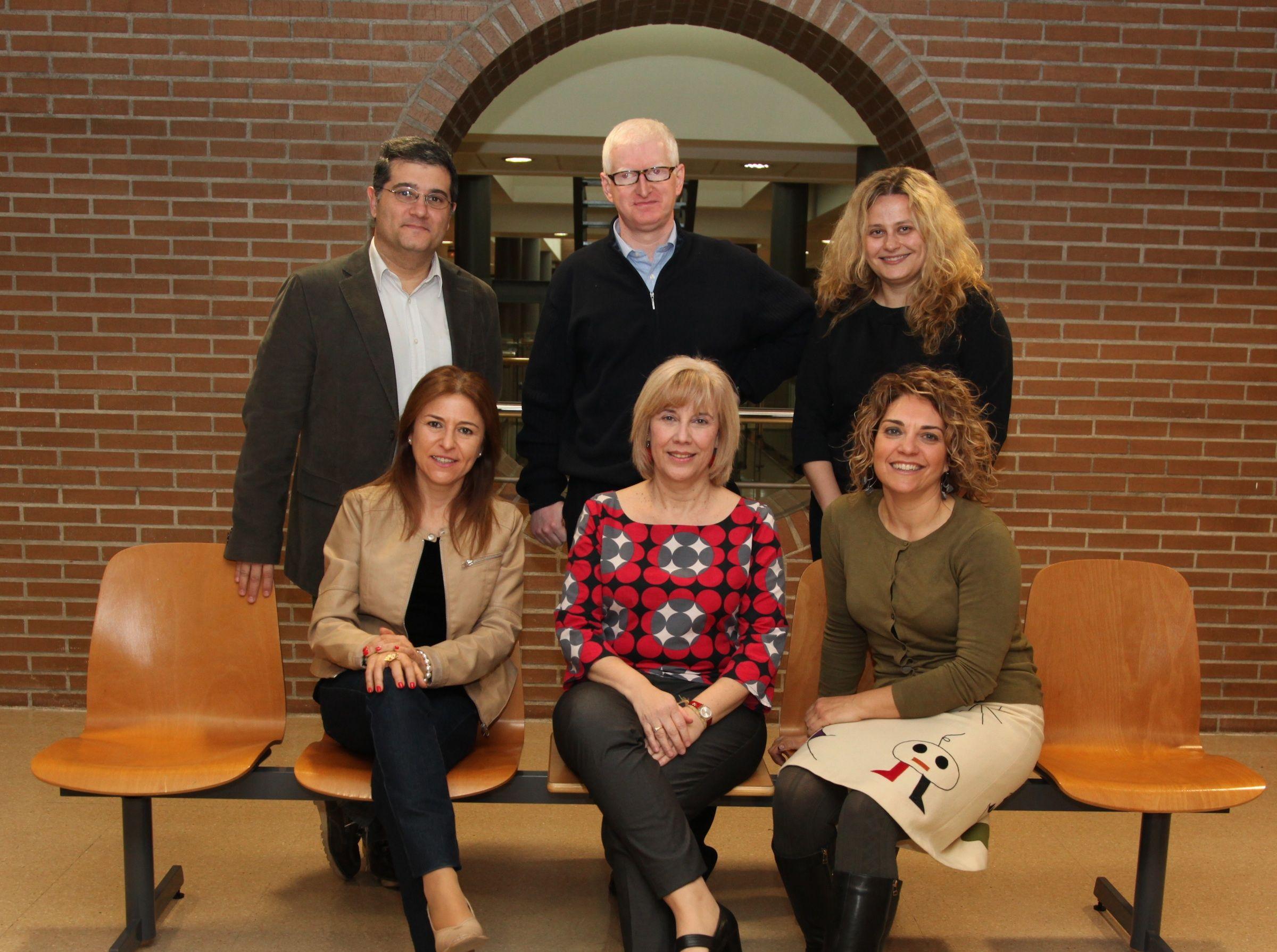 Los miembros del Grupo de Investigación en Comunicación y Discapacidad (GIDYC) de la CEU-UCH.