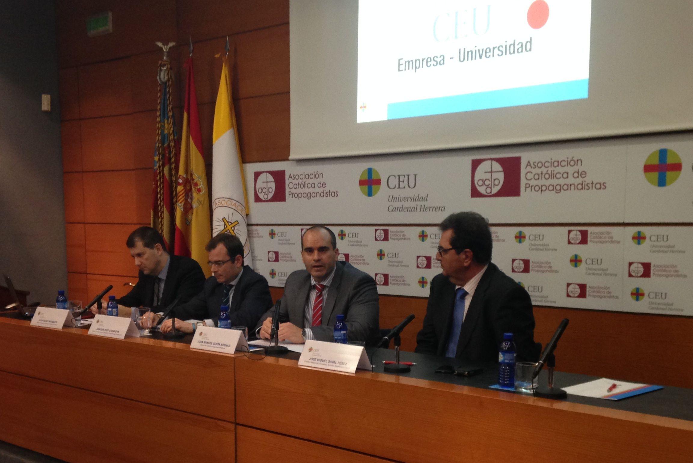 I Jornada CEU Empresa-Universidad.