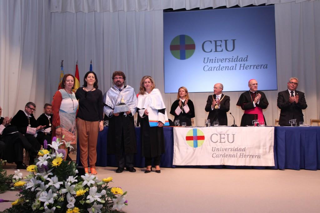 Ganadores del Premio Innovación Docente CEU-UCH, novena edición