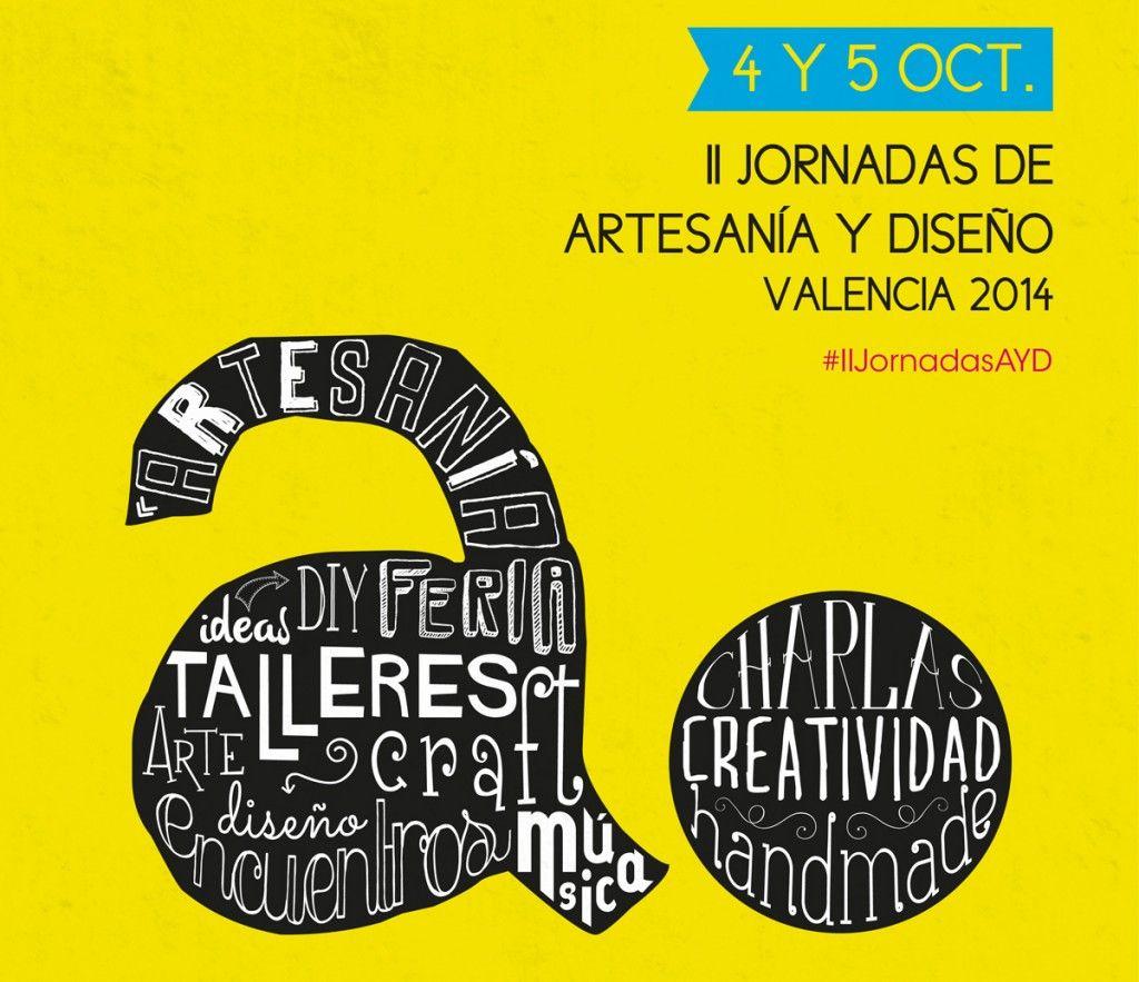 Jornadas artesania y diseño valencia organizadas por antiguas alumnas Publicidad CEU-UCH