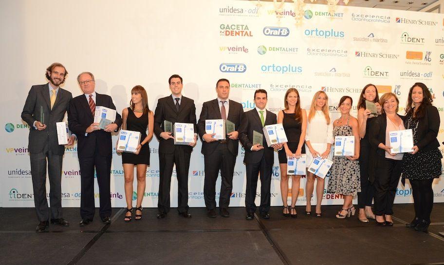 Salvatore Sauro, en la gala de entrega de los XVII Premios Gaceta Dental.