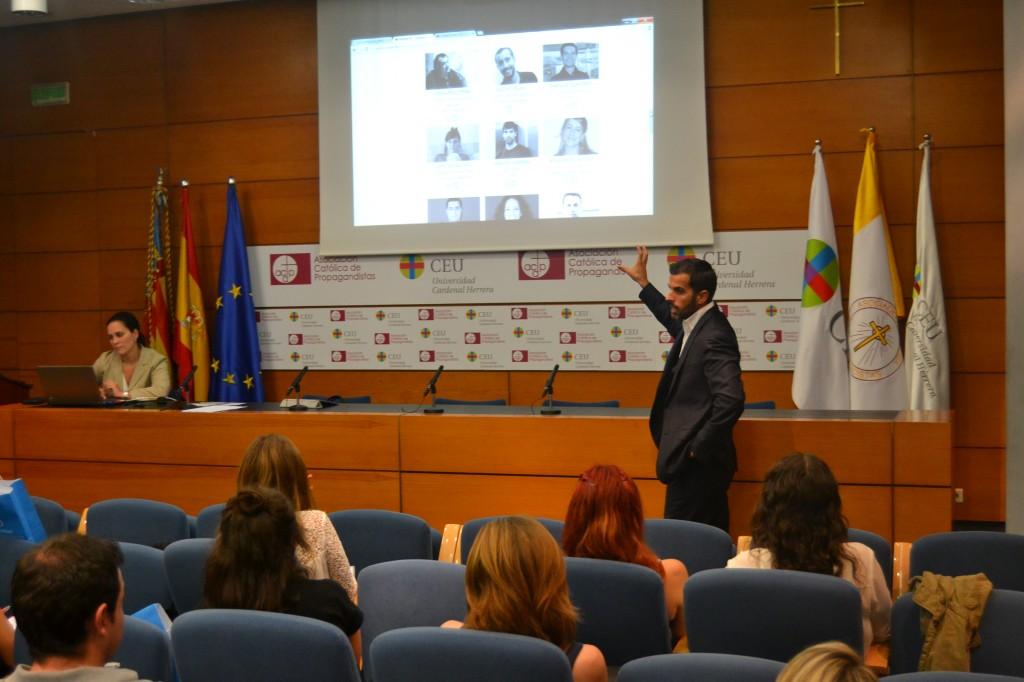 Vicente Ros, coordinador Master Comunicación Digital CEU-UCH