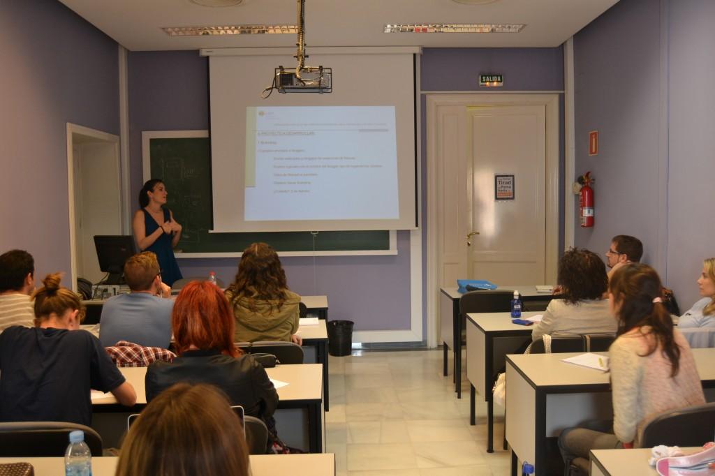 clase Master Universitario Comunicación Digital CEU-UCH