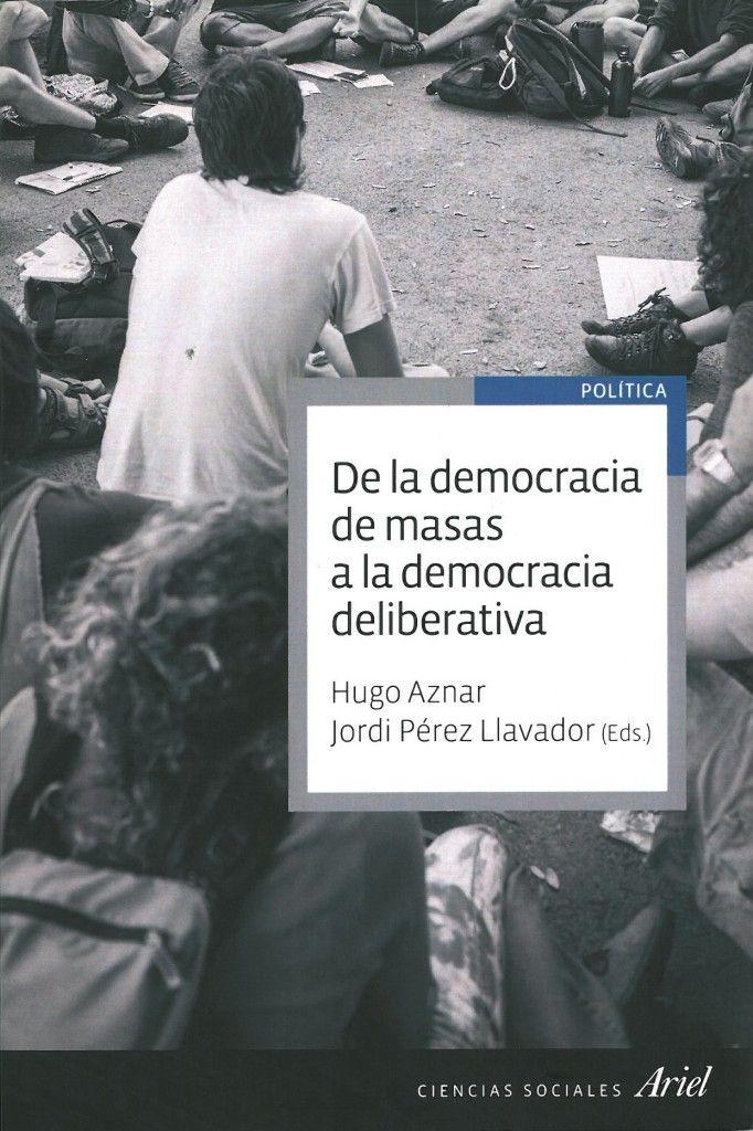 PortadaLibroDemocracia-HugoAznar-JordiPerez