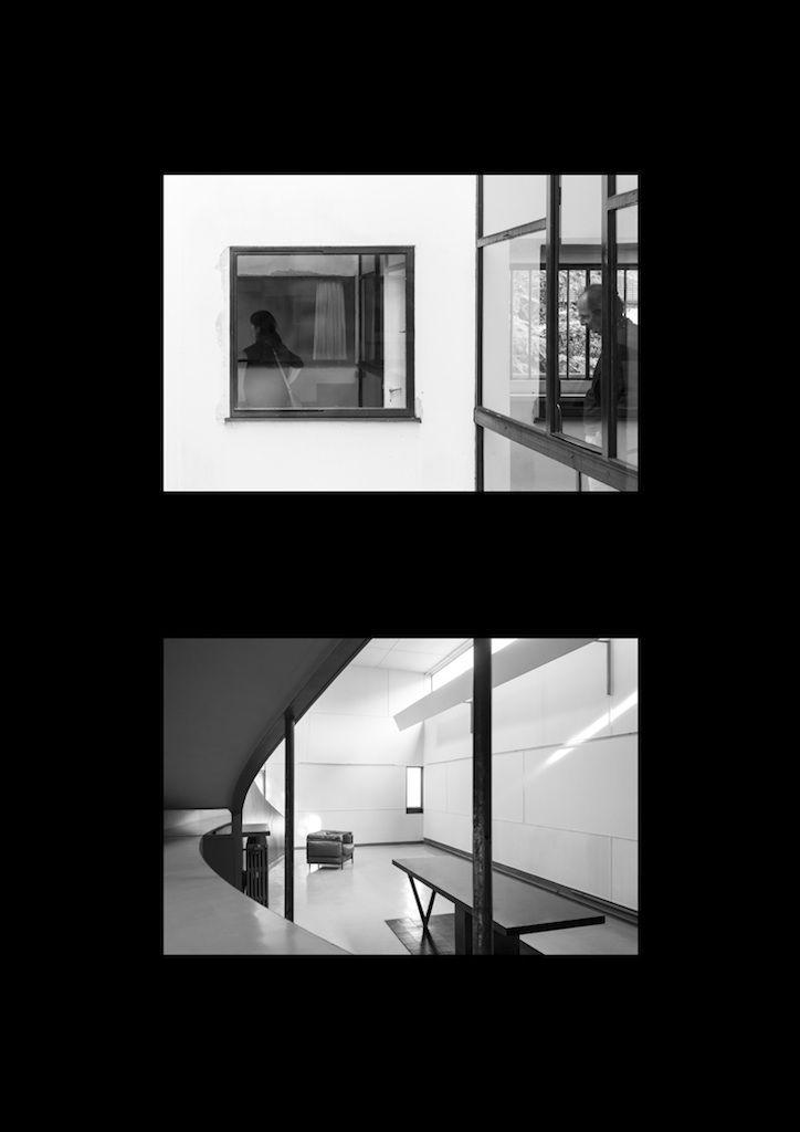 """Maison Le Roche: dualismo"", obra del estudiante Ángel Martín Gil, primer accésit del I CIFA 2014."