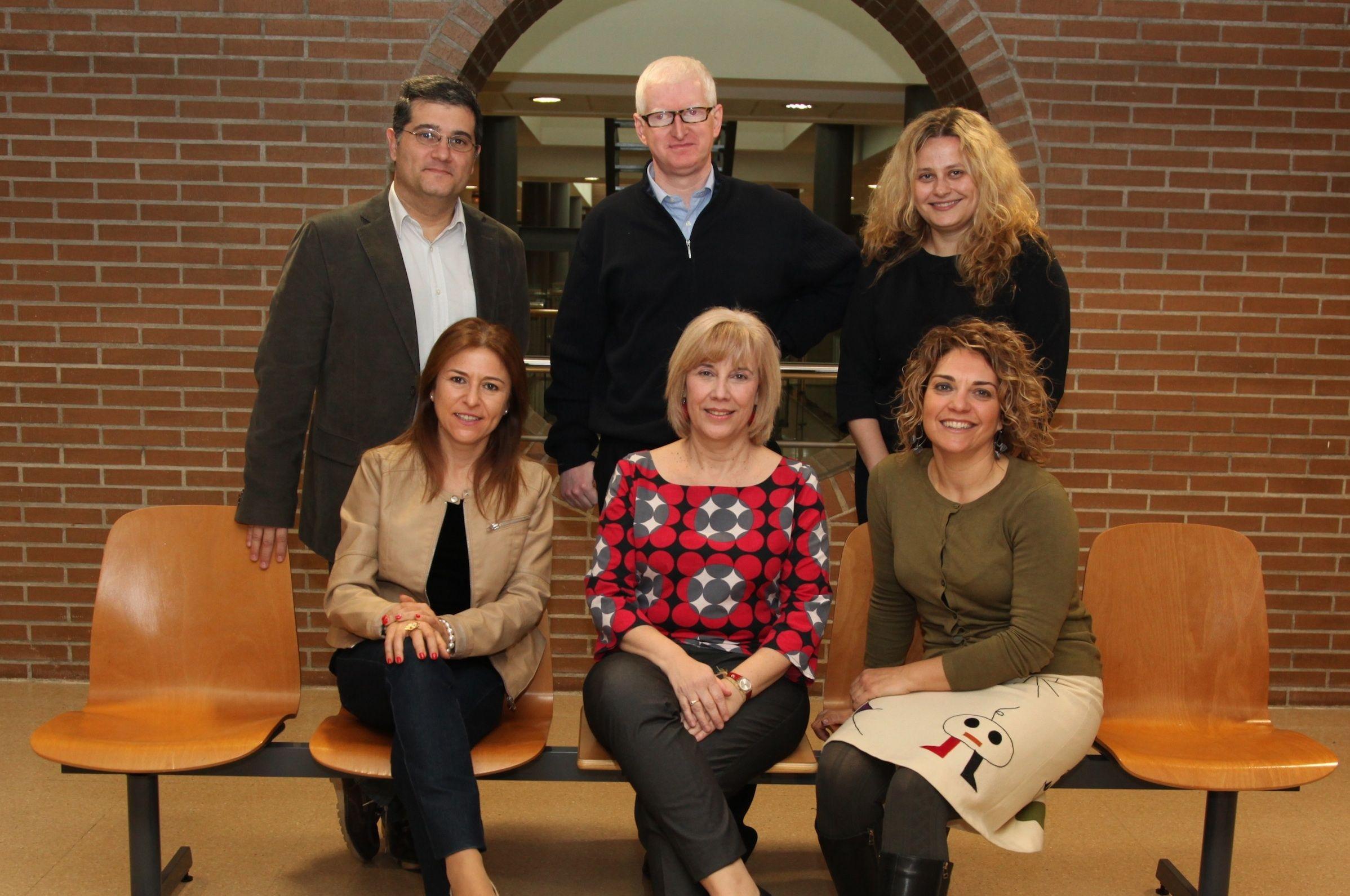 Los miembros del Grupo de Investigación (GIDYC) de la CEU-UCH, que liderará los trabajos de OBSER durante 2015.