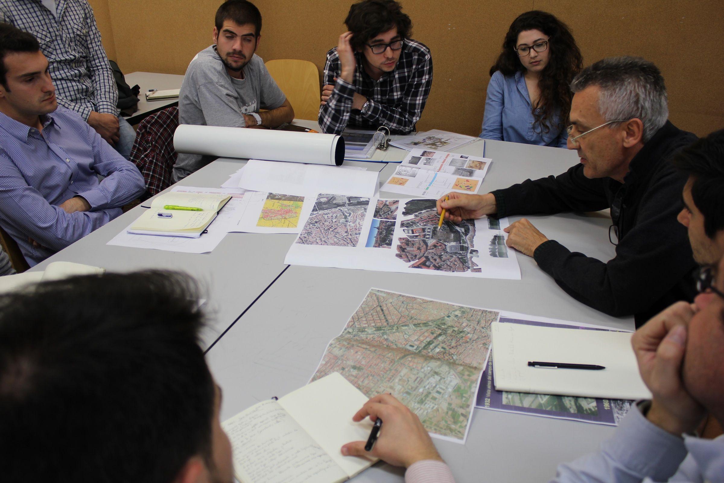 El arquitecto javier garc a solera nominado al premio for Grado superior arquitectura