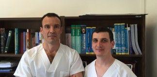 Los investigadores de la CEU-UCH Juan Francisco Lisón, vicedecano de Medicine, y Pablo Salvador, profesor del Grado en Fisioterapia.