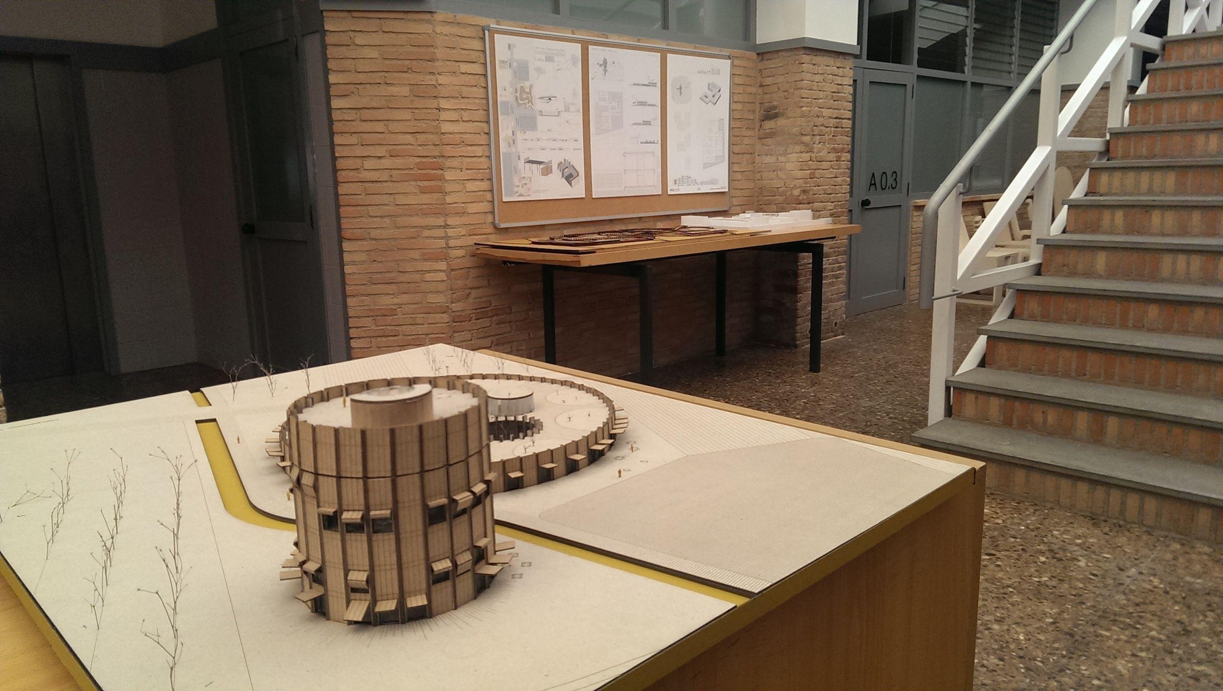 D a de proyectos en el grado en arquitectura de la ceu for Grado en arquitectura