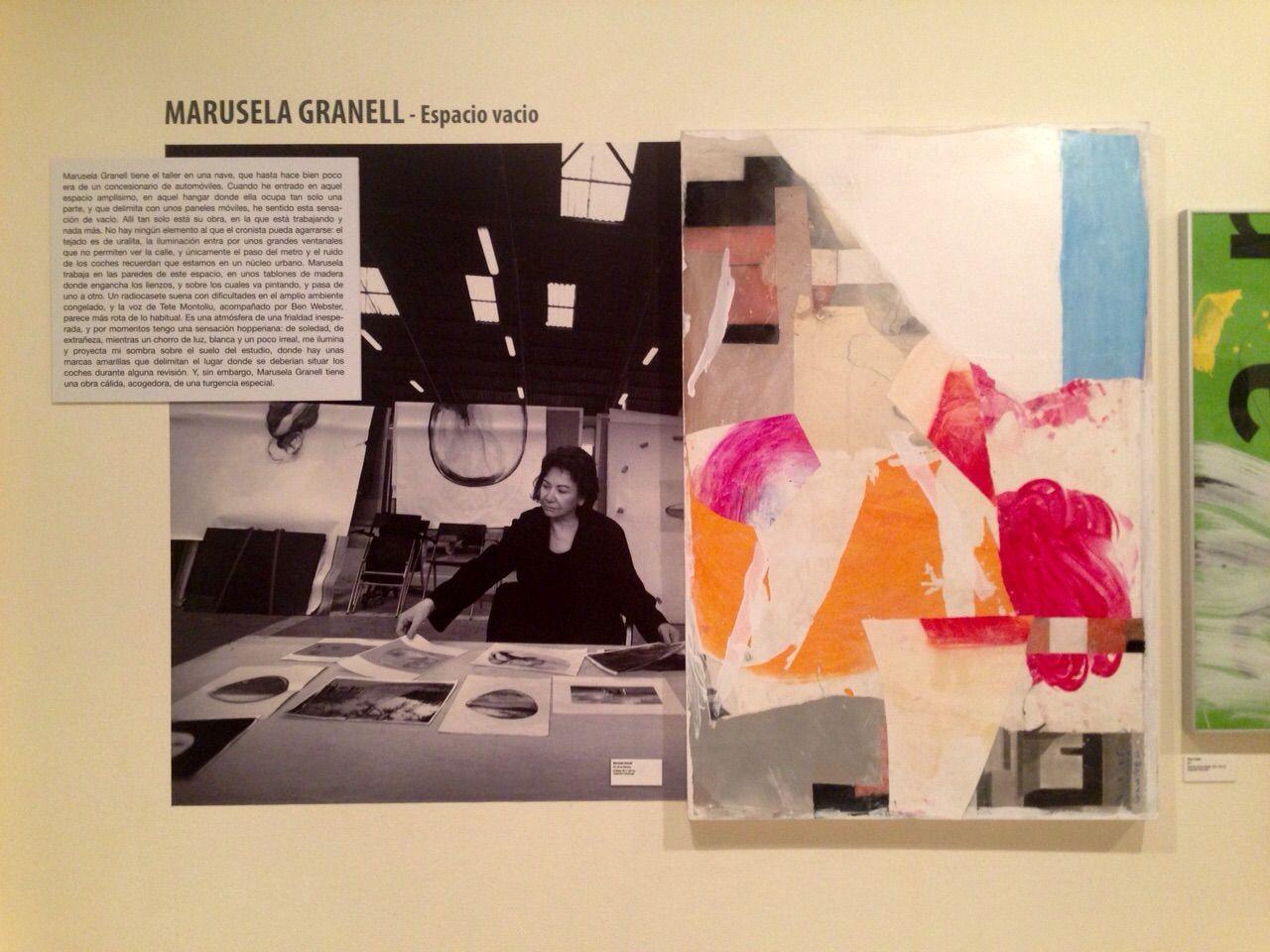 """El espacio creativo de Marusela Granell, incluido en la exposición """"Espacio de arte""""."""