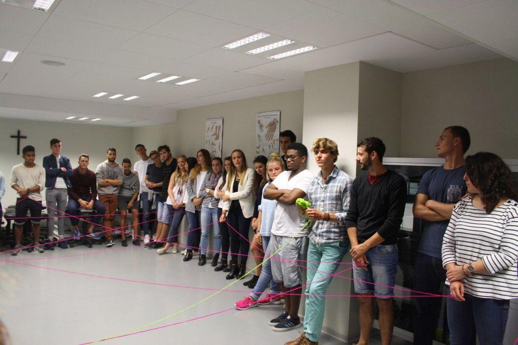 Alumnos franceses Fisioterapia CEU