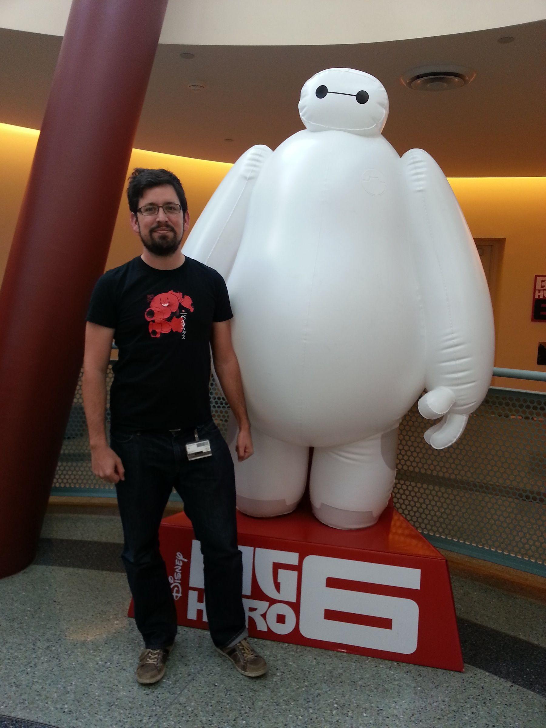 """Luis San Juan, premiado por Marca España como """"Español hecho de talento"""", ha participado en la última producción de Disney, Big Hero 6."""