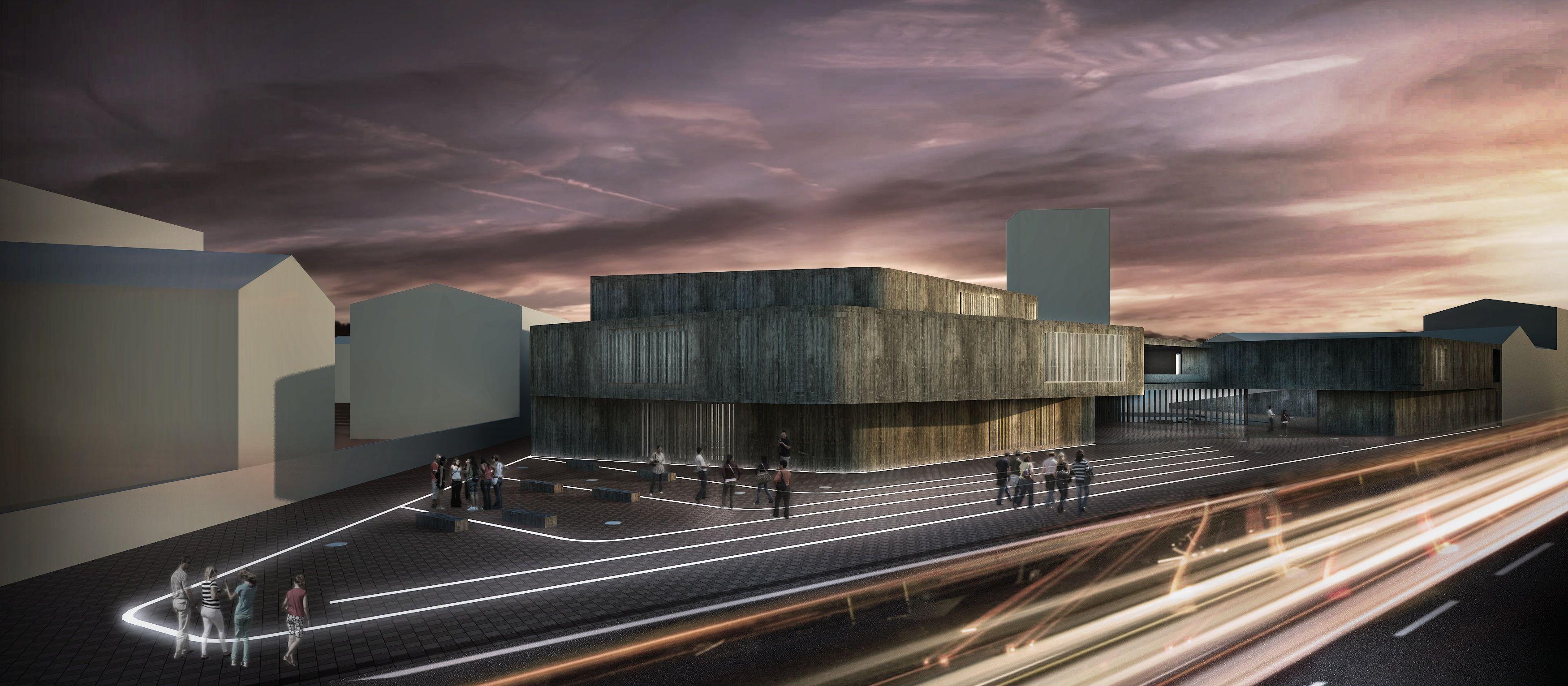 Propuesta de teatros en el barrio de El Carmen de Valencia, de Juan José Canós, mención de honor del COACV.