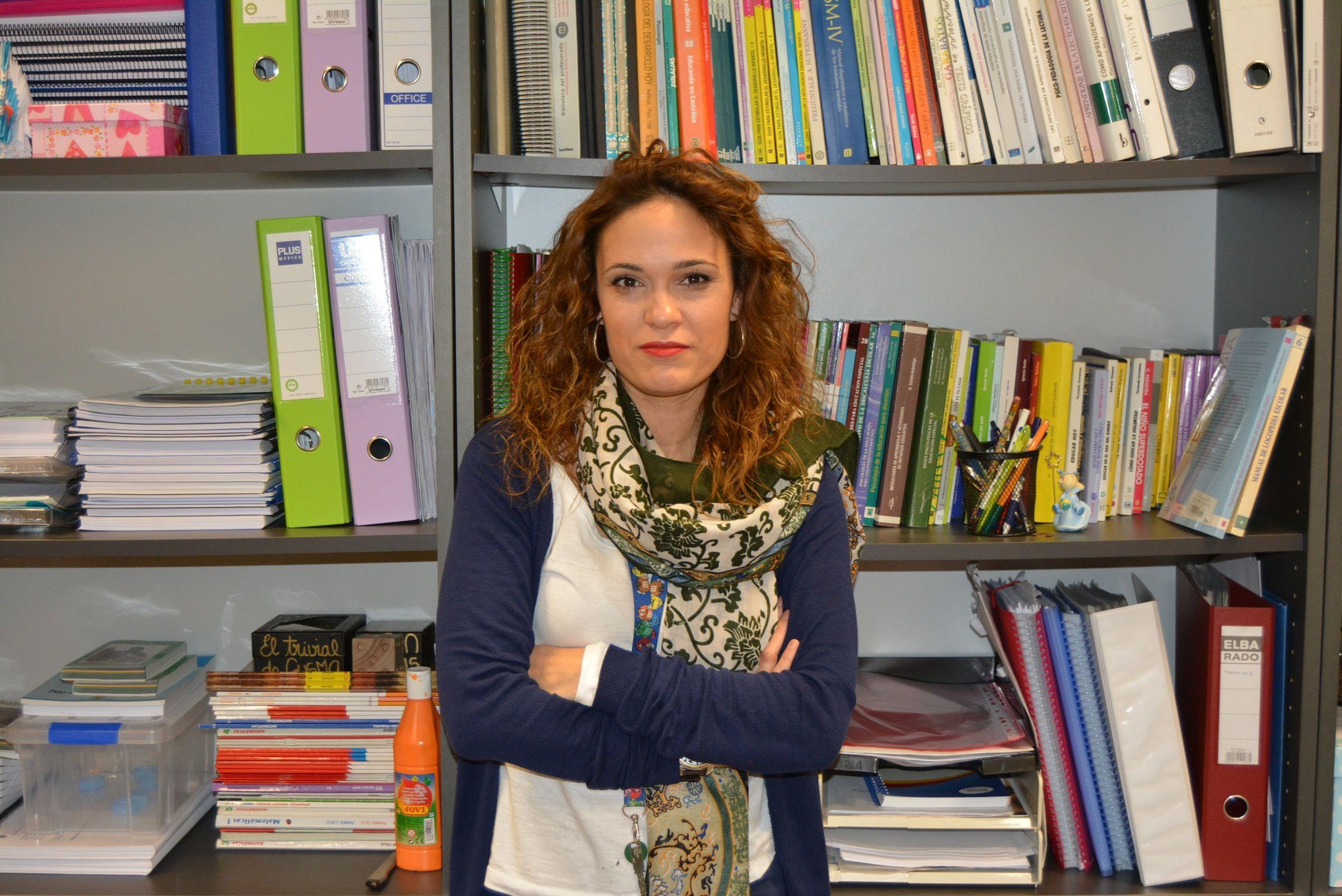 Lorena Andrés Soto, profesora del Departamento de Ciencias de la Educación de la CEU-UCH en Castellón, en los Grados en Educación Infantil y Educación Primaria.