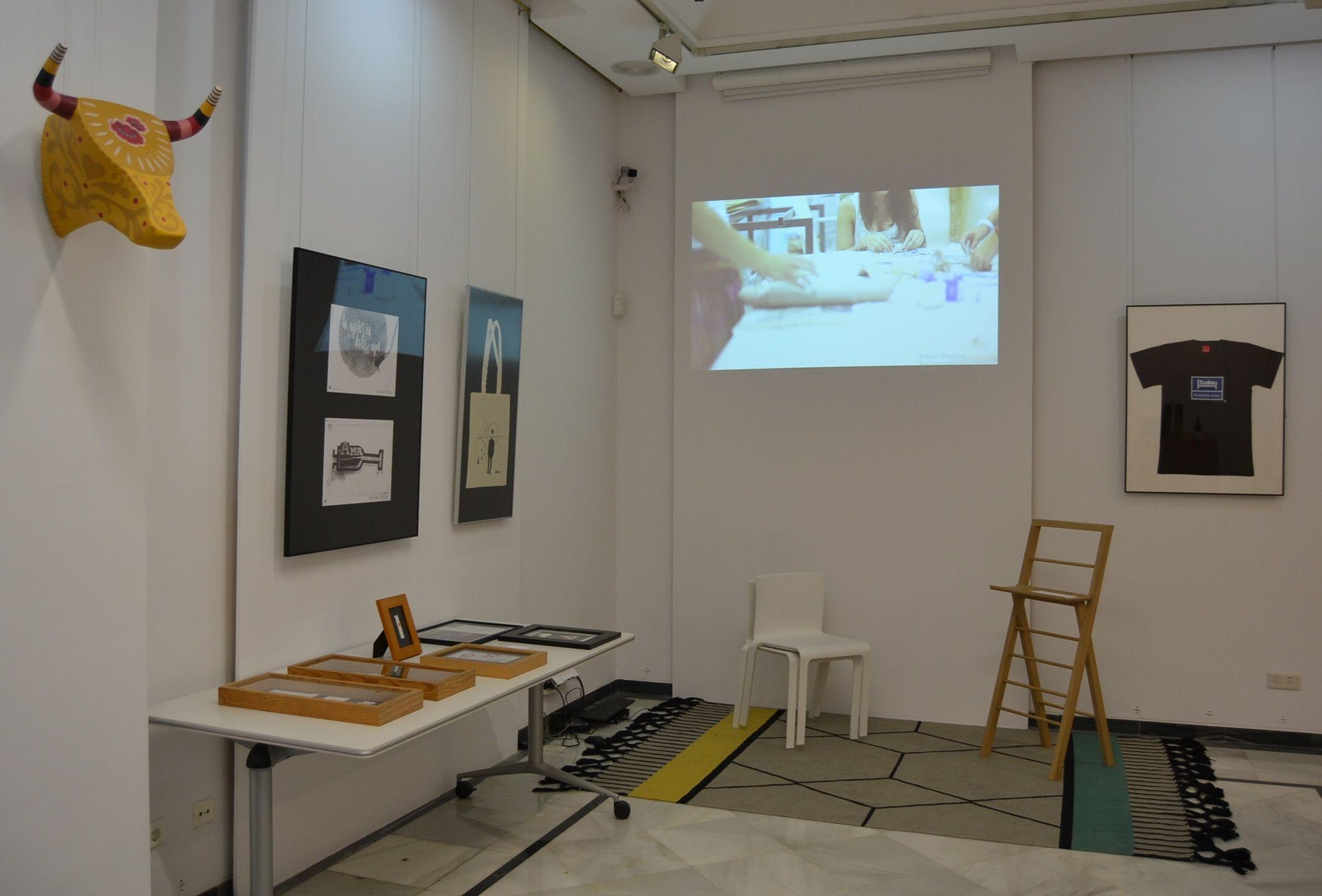 """Exposición Design Works 2016 """"El Diseño funciona"""", en el Palacio de Colomina CEU de Valencia."""