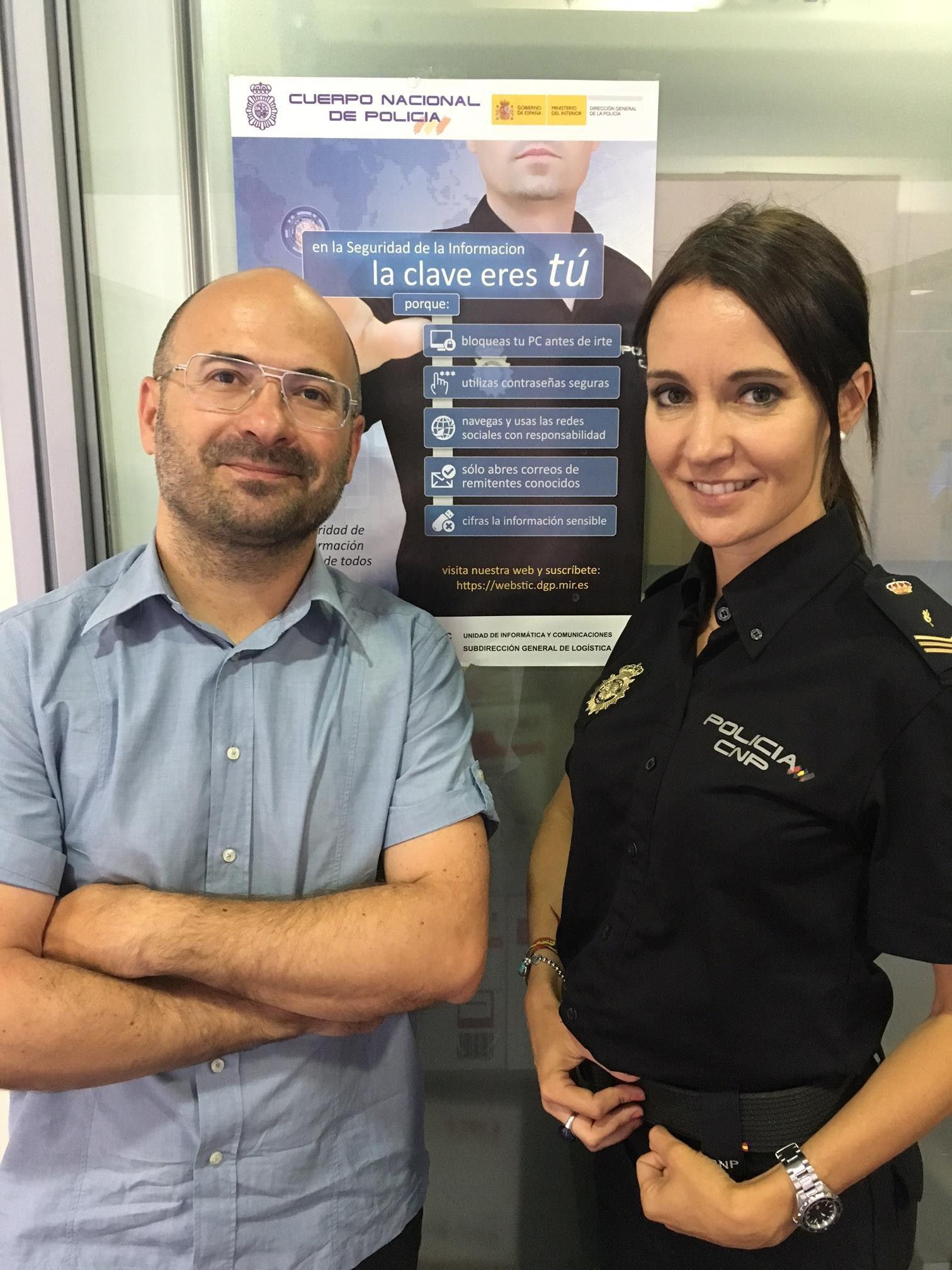 Colaboración de la Universidadqa CEU con la Policía Nacional