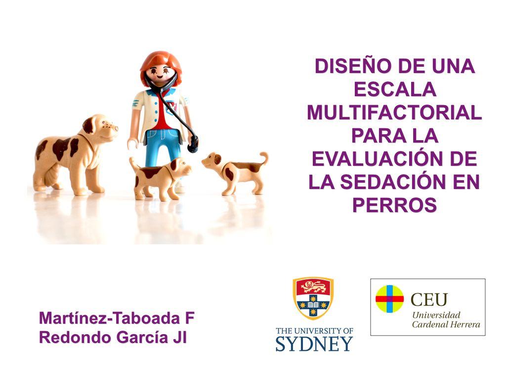 La nueva escala fue presentada en el XII Congreso Nacional de Sociedad Española de Anestesia y Analgesia Veterinaria (SEAAV).