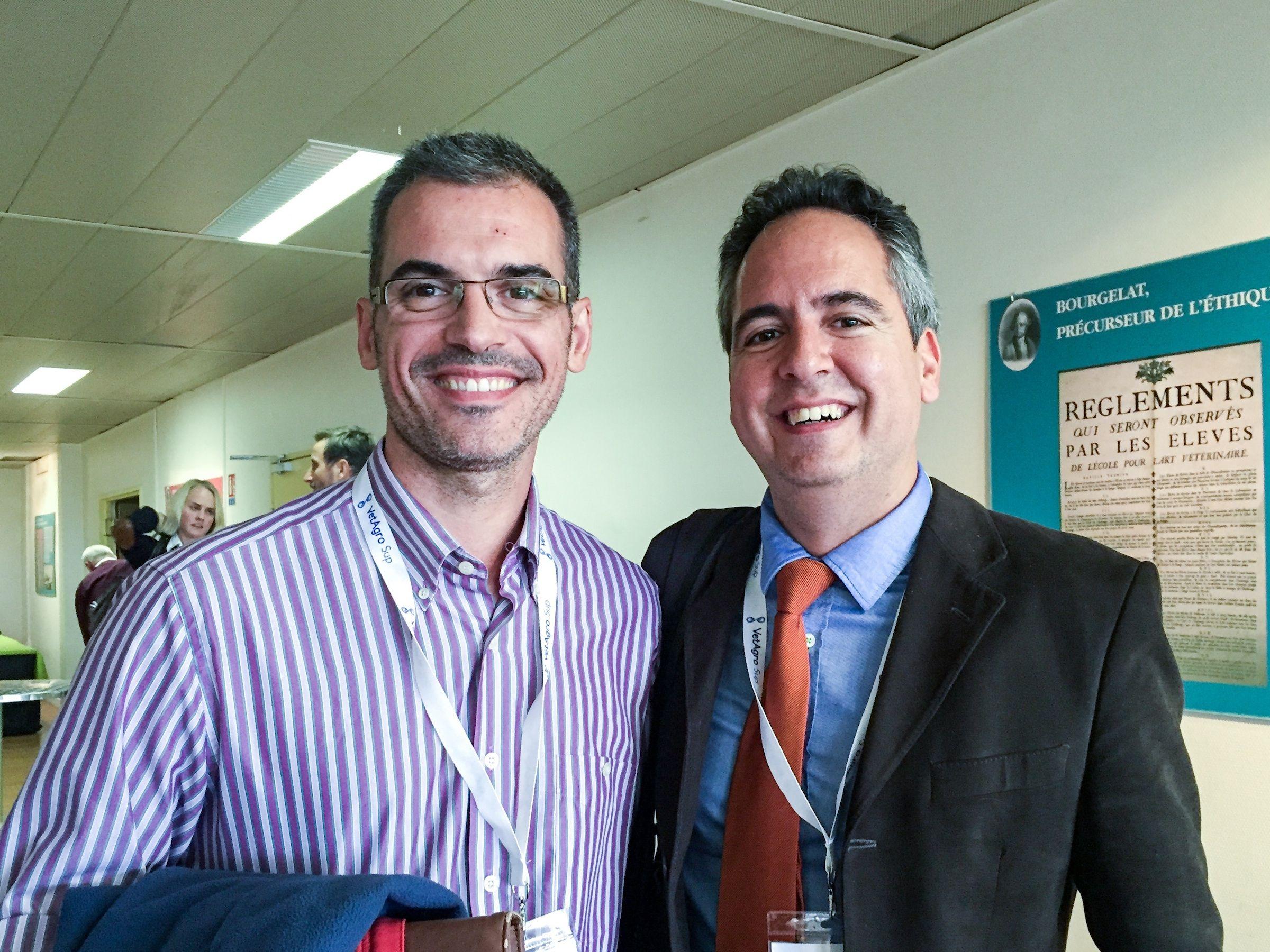 Los investigadores Fernando Martínez Taboada (U. Sydney) y José Ignacio Redondo (CEU-UCH), autores del estudio.