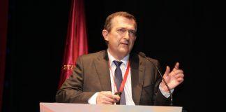 El doctor Julio Doménech, profesor de la CEU-UCH, durante la presentación del estudio en GEER 2016. (Foto: GEER).