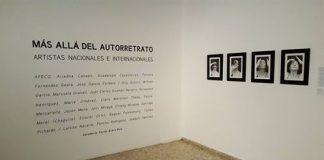La serie de autorretratos fotográficos de Marusela Granell, en el Museo de Arte Moderno de República Domunicana. Foto: Photoimagen 2016.