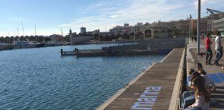 La propuesta #miramarina, en la que han participado los estudiantes de Arquitectura de la CEU-UCH en La Marina Real Juan Carlos I de Valencia.
