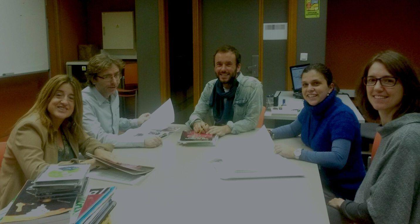 Los miembros del Servicio de Idiomas de la CEU-UCH.