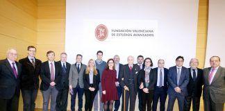 Ponentes y organizadores de la Jornada sobre Sarcomas, hoy en Valencia. Foto: Eva Ripoll (FVEA).