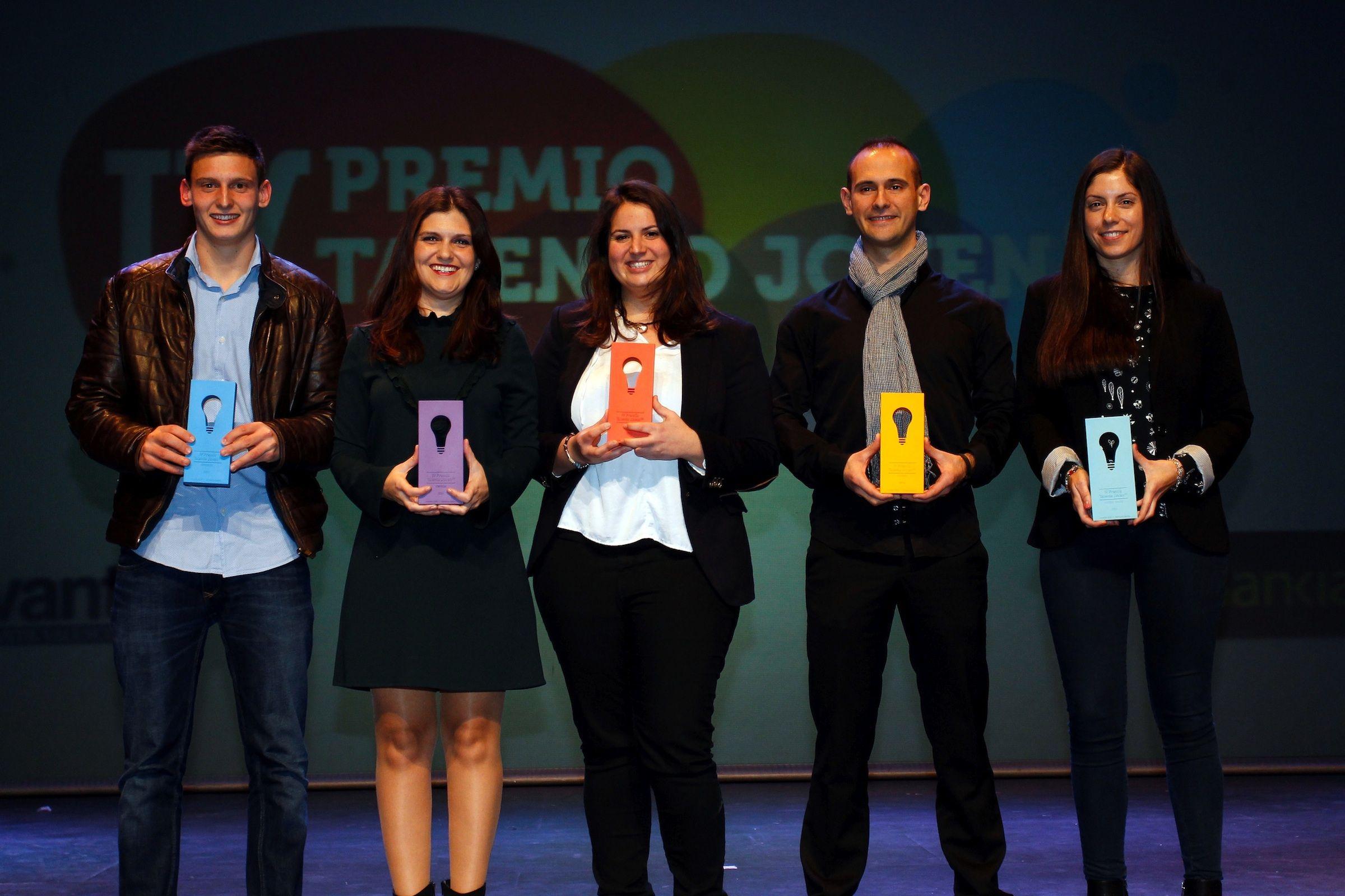 Los ganadores de Talento Joven. Foto: Miguel Ángel Montesinos (Levante-EMV)