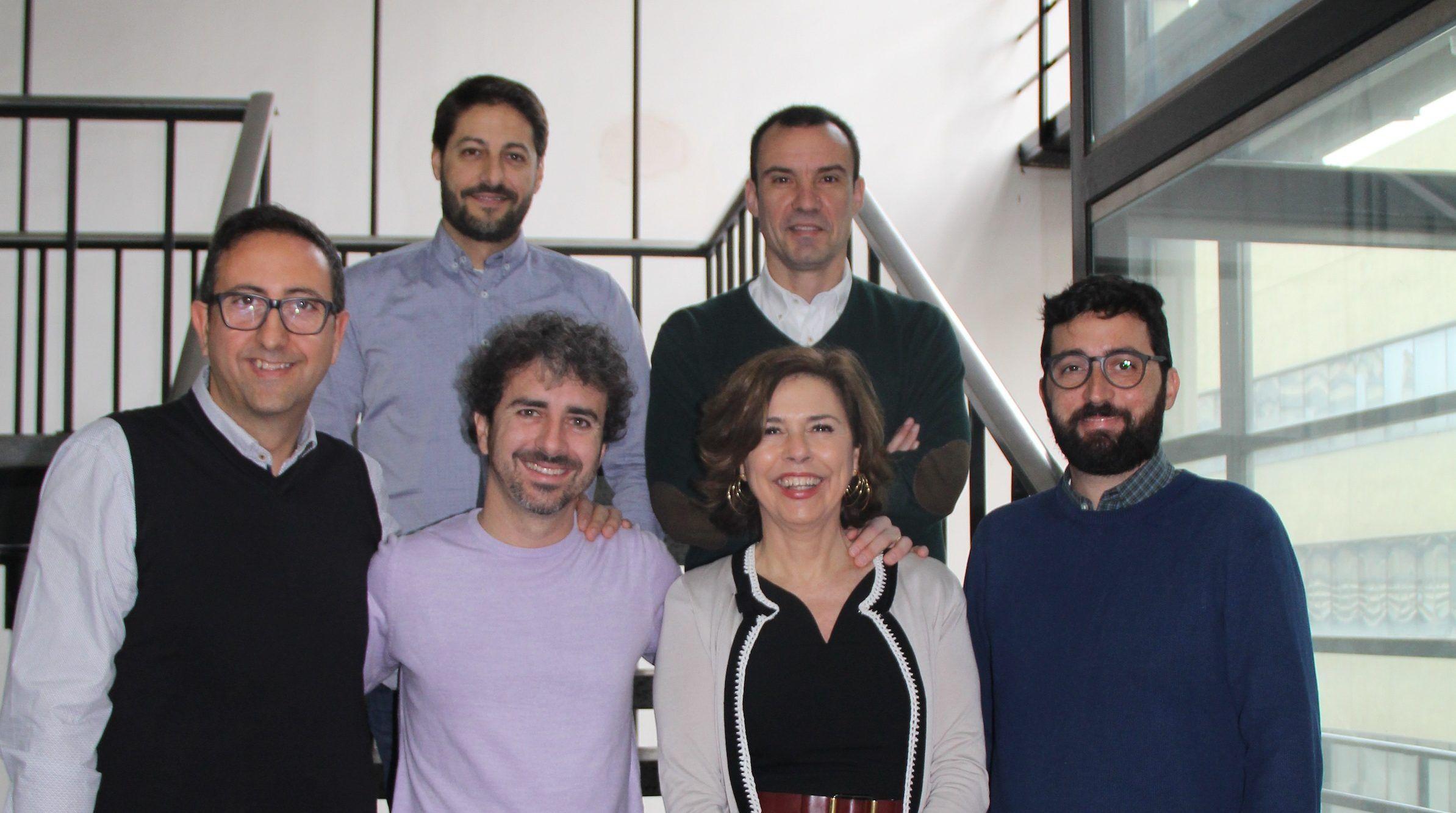 En la imagen, abajo, José Miguel Soria (CEU-UCH), Xavier Cortés (Hospital Sagunto), Rosa Baño (UV) y Ausiàs Cebolla (UV); arriba, Rafael González (CEU-UCH) y Juan Francisco Lisón (CEU-UCH).
