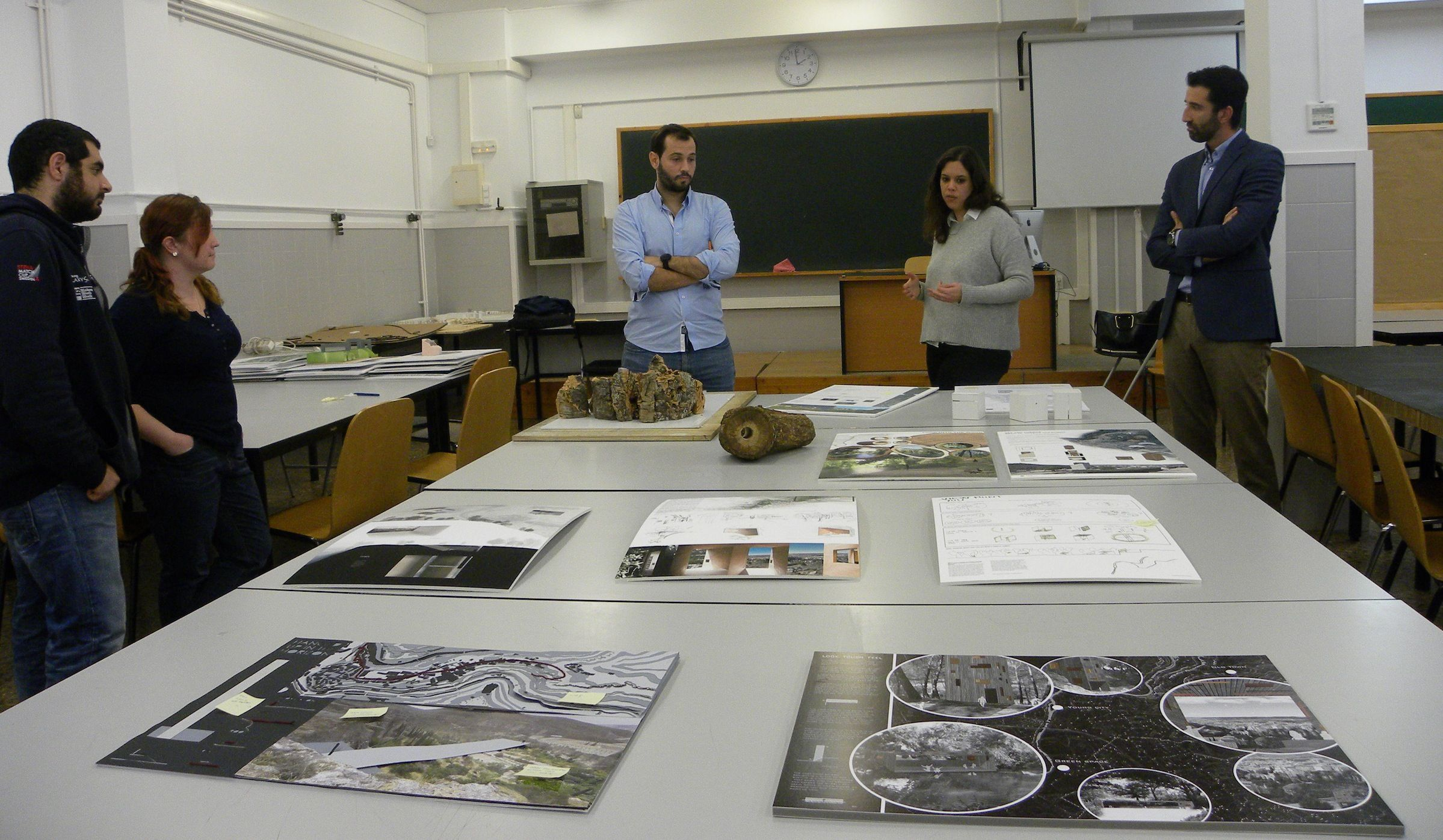 Amelia Perea ha visitado recientemente la CEU-UCH como jurado de las propuestas de los estudiantes en la International Weeek of Architecture.