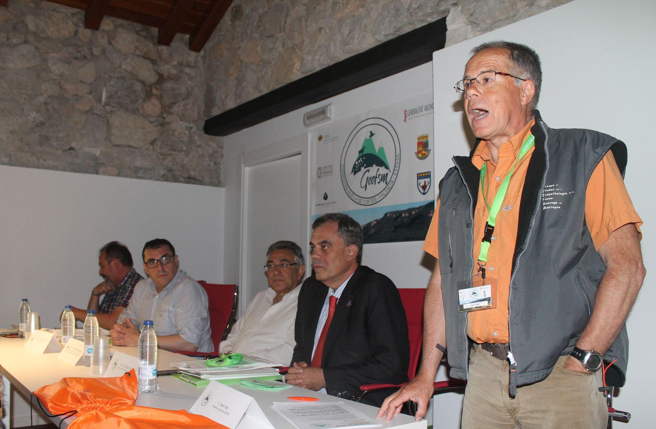 Inauguración del Encuentro del GEEFSM en Cofrentes. Foto: ICOVV.