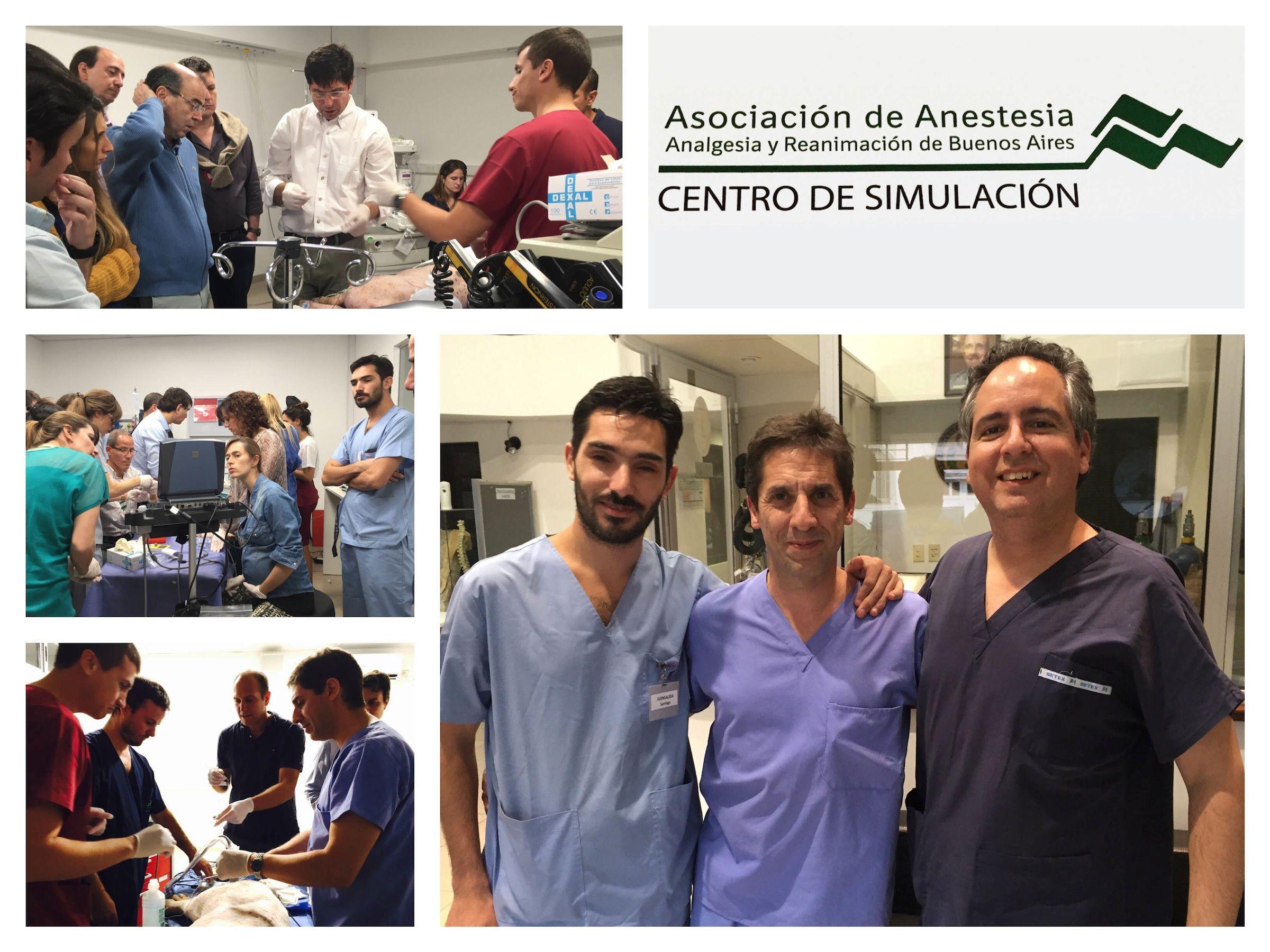 Redondo fue invitado como instructor en un curso de anestesia locorregional de la Asociación de Anestesia, Analgesia y Reanimación de Buenos Aires (AARBA), de medicina humana.