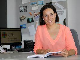 Beatriz Lores, autora de la tesis sobre el uso de las TIC en los centros de Educación Primaria de Castellón, defendida en el CEU-UCH.