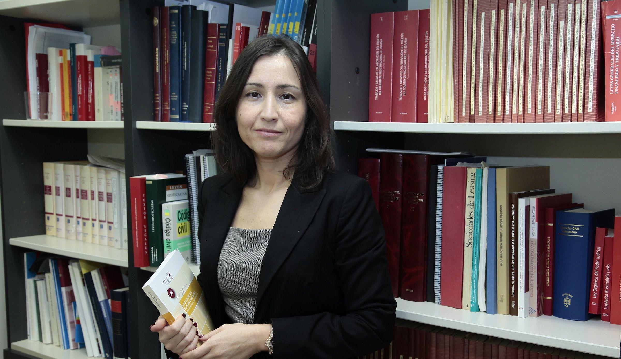 Isabel Rodríguez Martínez, profesora titular de Derecho Mercantil de la CEU UCH.