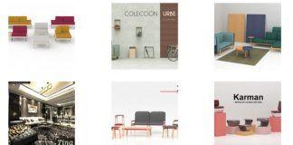 Algunas de las propuestas de estudiantes de Diseño del CEU de Valencia, presentadas en la pasada edición de Nude, en Habitat 2016.