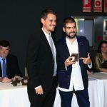José Luis Moreno, primer premio al mejor PFC.