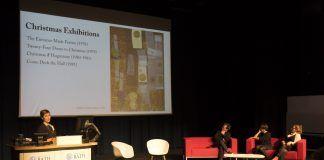 La arquitecta y profesora de la CEU UCH Ana Ábalos, en el Smithsons Symposium de la University of Bath. Foto: Richard Battye, FCBStudios.