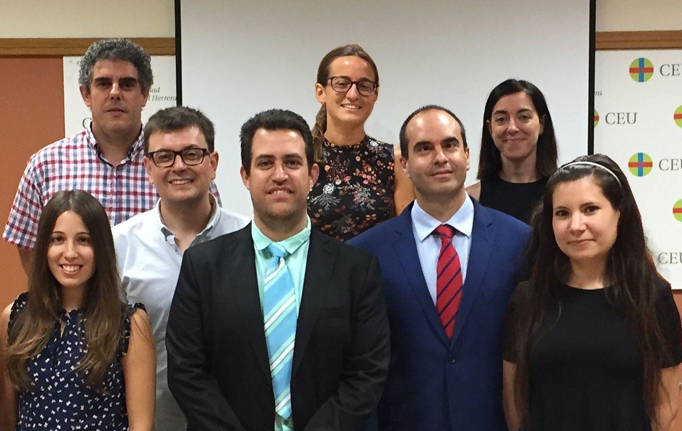 El Grupo de Investigación en Patología y Sanidad Animal de la CEU-UCH.