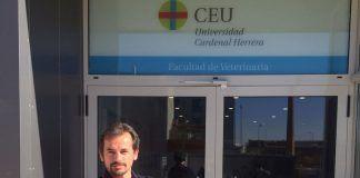 El profesor de Clínica Equina y jefe del Servicio de Medicina Interna Equina del Hospital Clínico Veterinario (HCV) de la CEU UCH, Ignacio Corradini.