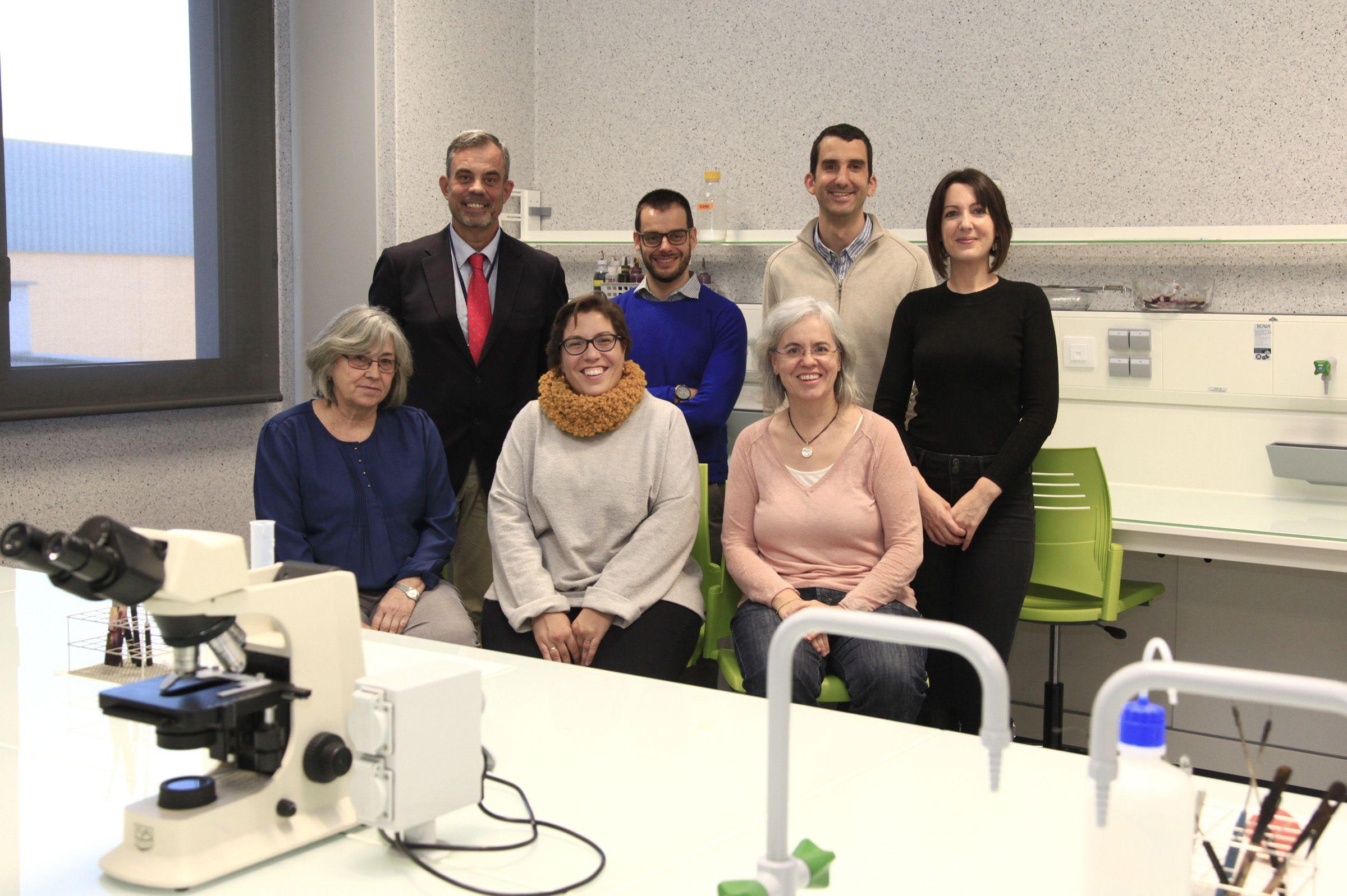 Investigadores del IVIA y la CEU UCH, integrantes del equipo investigador financiado por el INIA.