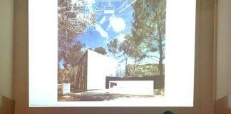 Ignacio Juan, invitado por Arquitectes per l'Arquitectura, durante la presentación de la obra de Horma Estudio en el CTAV.
