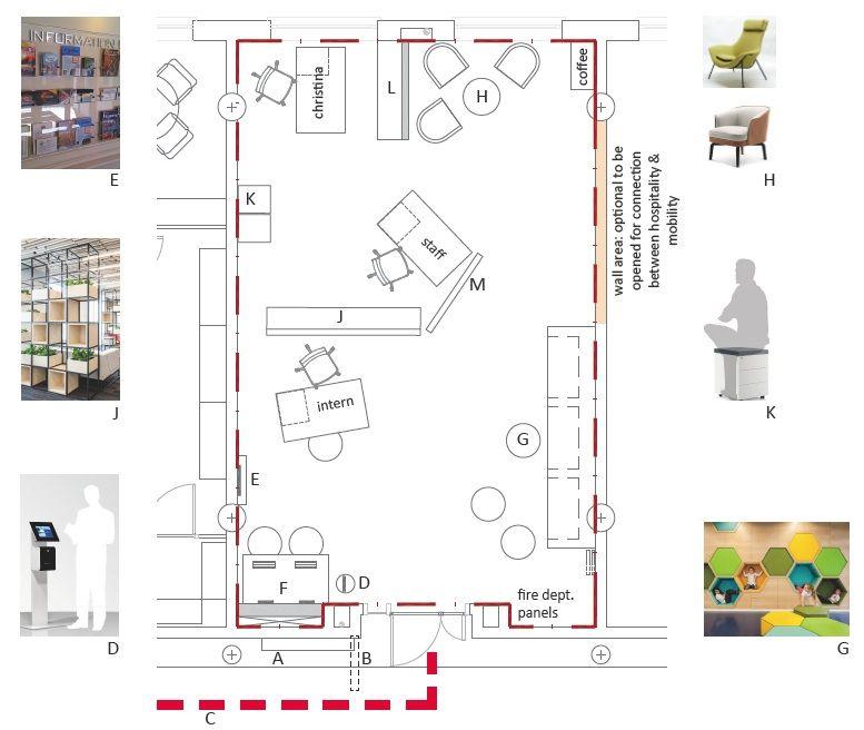 Propuesta ganadora, obra de los estudiantes de Architecture de la CEU UCH Holly Yarjau, Mariia Kanarchuk y Marouane Alaoui.