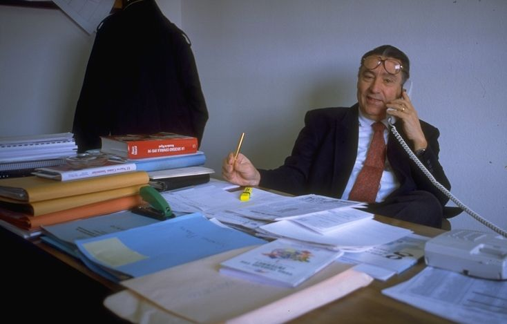 Carlos Pajuelo, en su etapa como jefe de estudios de Publicidad y Relaciones Públicas, en el CEU.