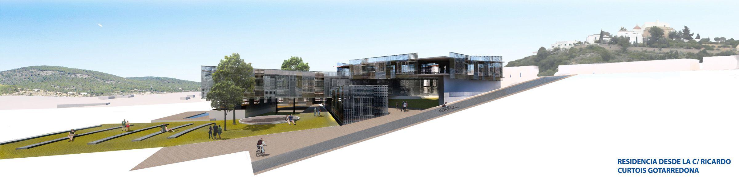 El proyecto 'Xarc', de José Luis Moreno, premiado como mejor Proyecto Fin de Carrera en Arquitectura, por el COACV.