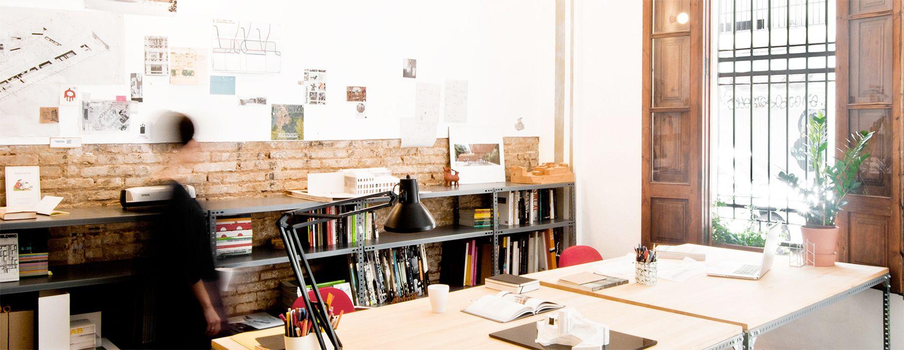 El estudio abalosllopis architects, en el barrio de Ruzafa de Valencia.