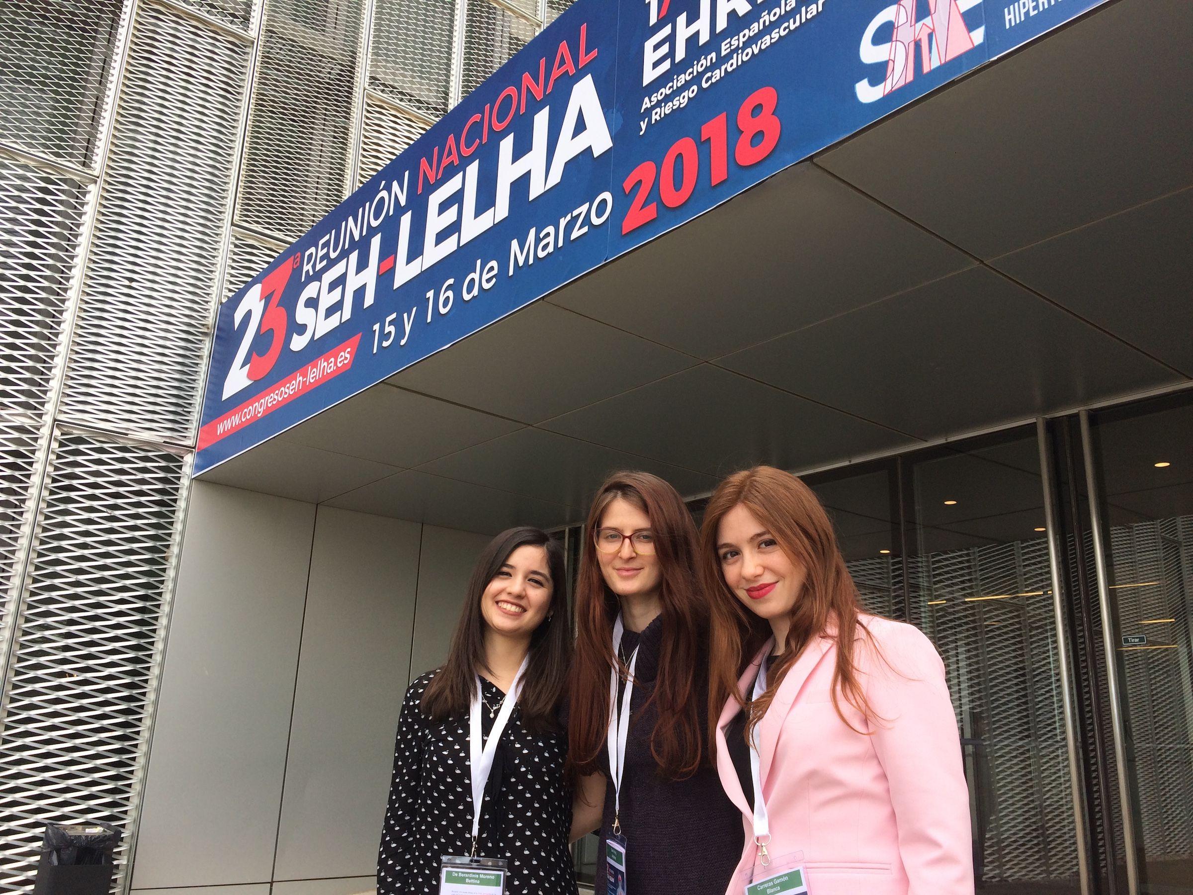 Bettina de Berardinis, Andrea Gea y Blanca Carreras, estudiantes de 4º y 5º de Medicina en la CEU UCH de Castellón.